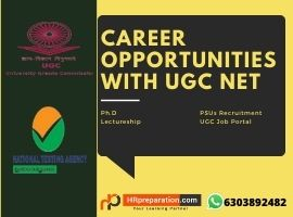 career opportunities with NTA UGC NET OR Befenifits after NTA UGC NET