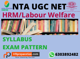ugc net hrm labour welfare syllabus