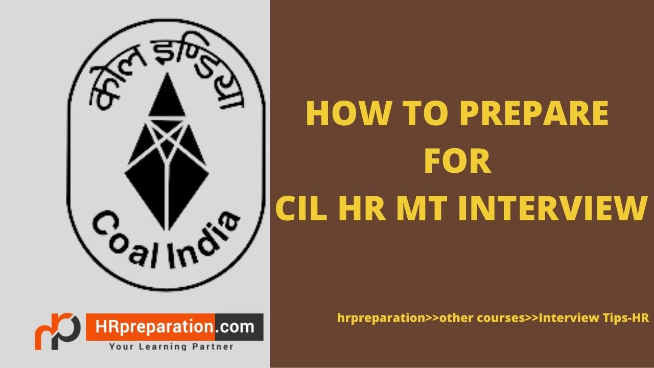 how to prepare for cil hr mt interview